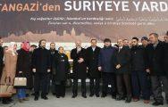 İSTANBUL'DAN SURİYELİ MÜLTECİLERE YARDIM KONVOYU
