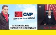 CUMHURİYET HALK PARTİSİ GERGER'DE ACAR AİLESİ İLE SEÇİME HAZIRLANIYOR !