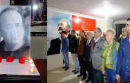 SULTANGAZİLİ CHP'Lİ GENÇLER UĞUR MUMCUYU ANDI !