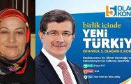 SUZAN ABLA AK PARTİLİLERİ KONGREYE DAVET EDİYOR !..