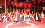 SULTANGAZİLİLER FENER ALAYI İLE COŞTU !..