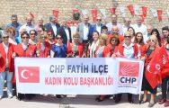 CHP'LİLER ZÜBEYDE HANIM'A KOŞTULAR !..