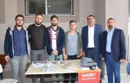 CHP'Lİ MECLİS ÜYELERİ İLÇE SEÇİM KURULUNDA !..