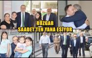 RÜZGAR SAADET'TEN YANA ESİYOR !..
