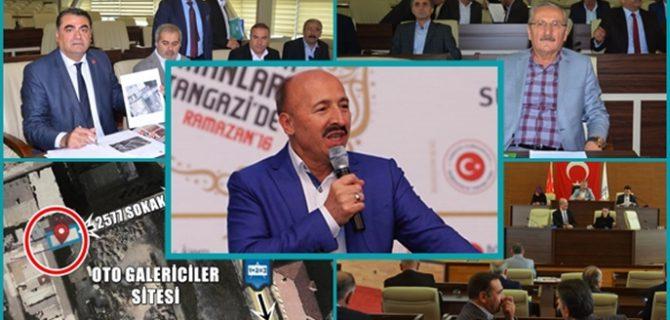 VİZYON PROJEDE YOL KAPATMA TARTIŞMASI !..