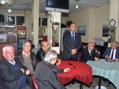 """CHP NEFERİ ÖZİMER """"ÇAYLAR BİZDEN"""" DEDİ"""