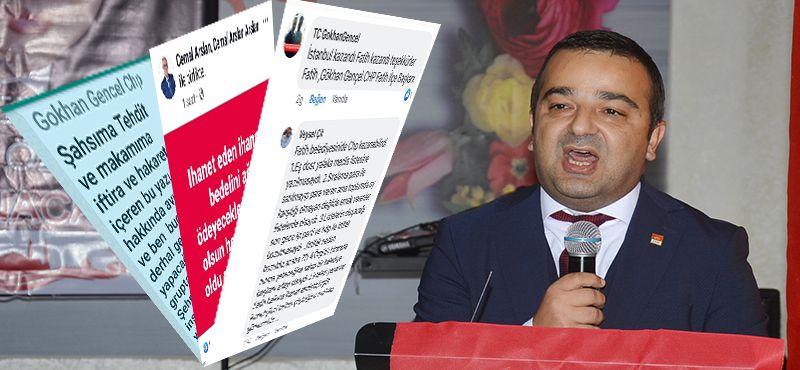 CHP FATİH'TE GENÇEL'E KAZAN KALKTI