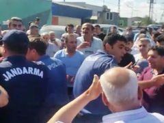EYÜP SULTAN'DA KURBAN KESİMİ REZALETE DÖNDÜ