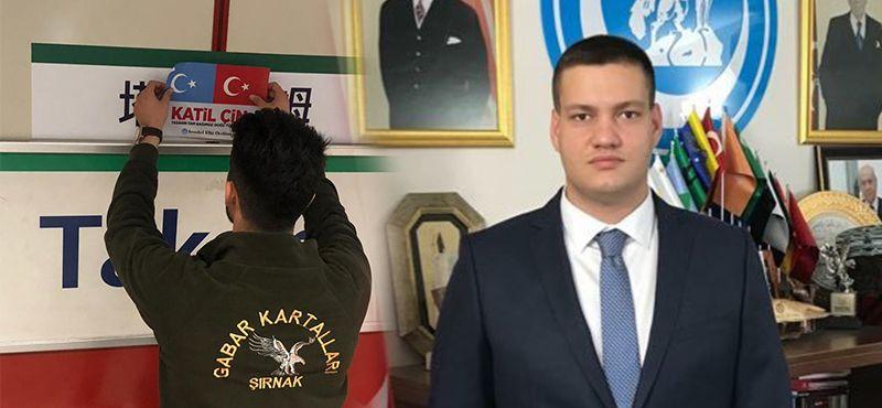 ÜLKÜCÜLERDEN İMAMOĞLU'NA ÇİN TEPKİSİ!..
