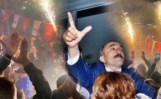 GAZİ MAHALLESİ'NDE BÜYÜK DEMOKRASİ ŞÖLENİ YAŞANDI