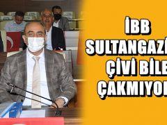 İBB SULTANGAZİ'YE ÇİVİ BİLE ÇAKMIYOR!